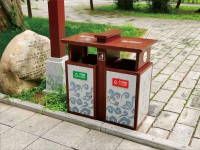 环保分类垃圾箱和分类垃圾桶日常清洗方法