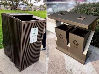 垃圾分类垃圾桶选择不锈钢环保分类垃圾箱的原因