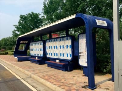 公交站牌候车亭宣传栏