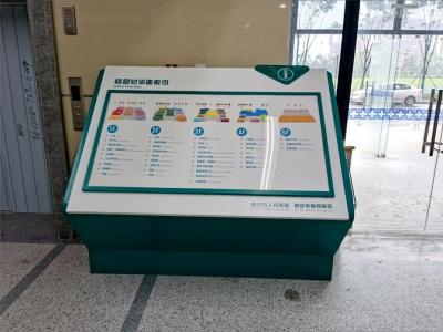 西安市人民医院标识标牌设计制作