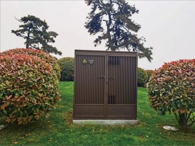 西安景观式户外配电箱制作