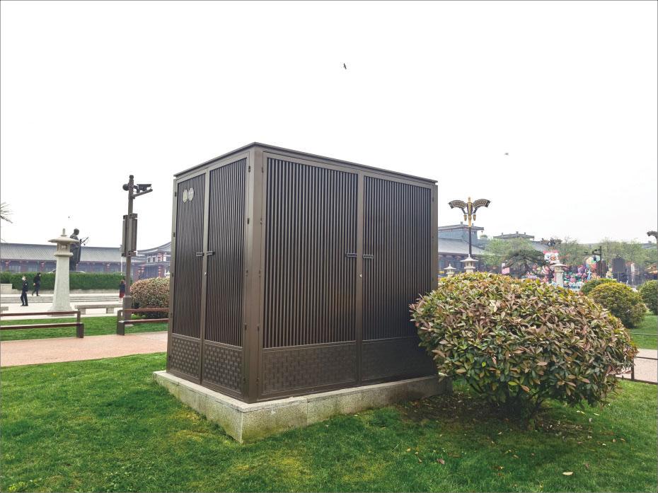 西安景观式户外配电箱制作 公园电箱